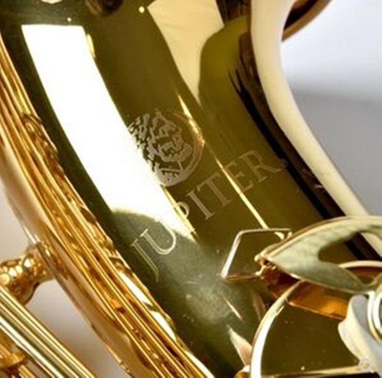 Taiwan JUPITER JAS-700 Instrument nouveau Saxophone Alto Eb Tune or laque saxo avec étui embout professionnel livraison gratuite