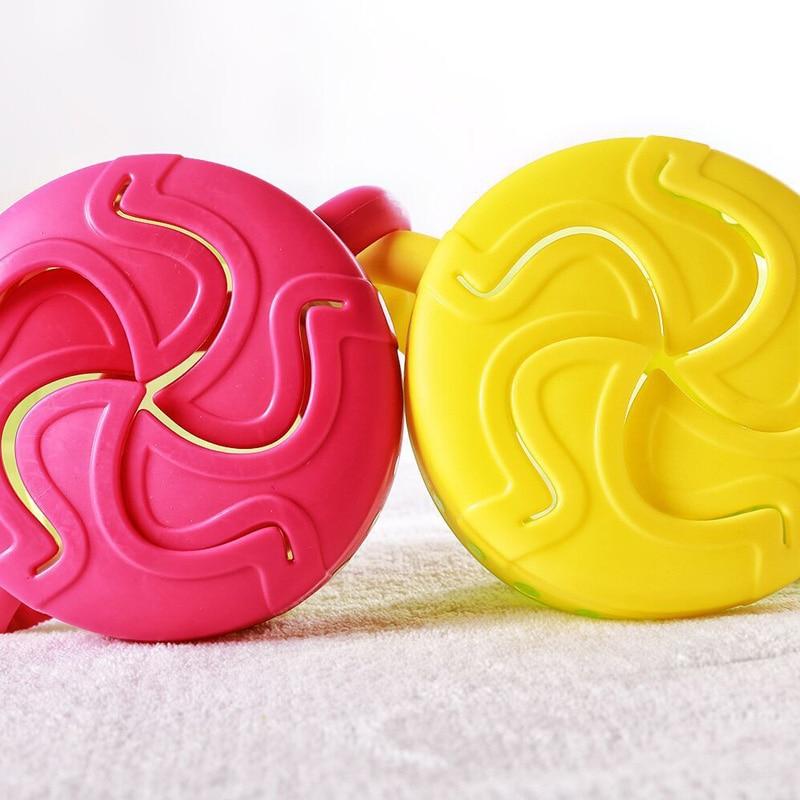 Baby Snack Non Spill Cup Soft plastic portable Portable storage - Memakan kanak-kanak - Foto 5