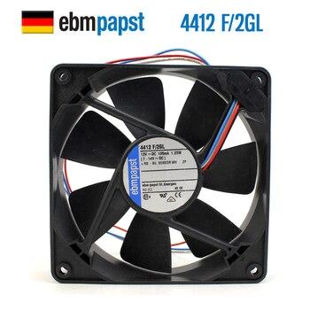 NEW ebmpapst PAPST 4412F/2GL 12025 12V 1.25W silence cooling fan