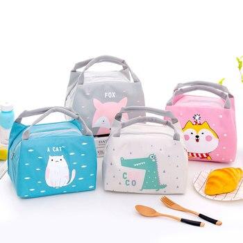 Cartoon Lunch Bag for School