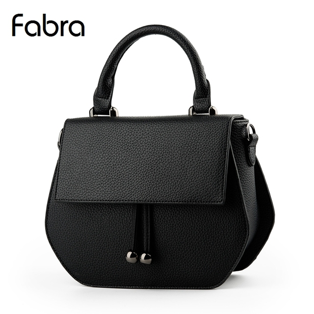 Fabra Fashion Women Messenger Bags PU Leather Handbags Korean Style Shoulder Bag Lady Small Casual Shell Crossbody Flap Bags