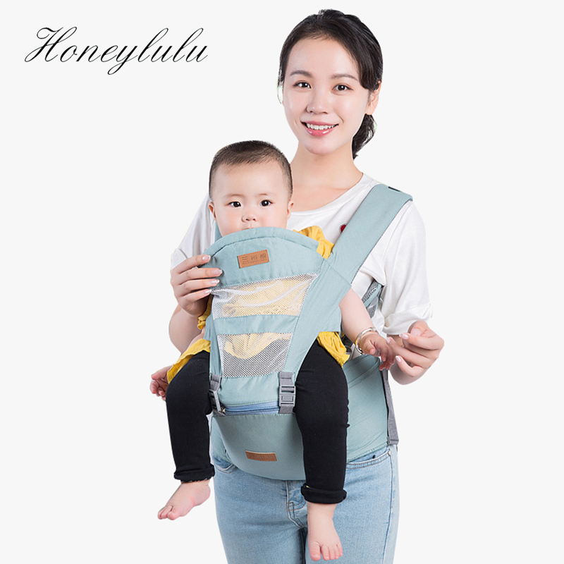 Honeylulu Summer Fashion Mesh Baby Carrier 3D Honeycomb Sling For Newborns Ergoryukzak Backpack Kangaroo Hipsit Wrap
