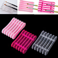 Nail Art Brushes Pen Rest Holder Stand for 5pcs Makeup Nail Art Brush Tools Top Quality