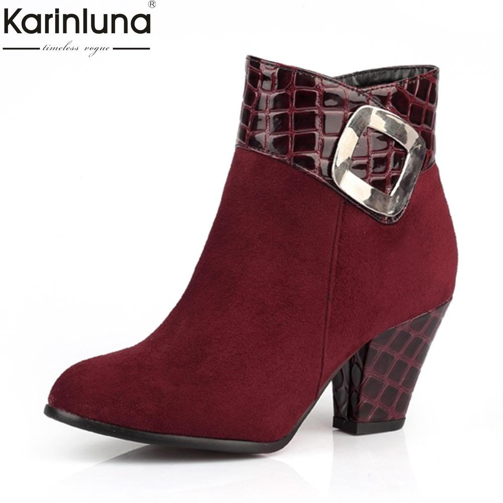 En Femme Vente Zip Up Chaussures 2018 Gros Femmes Karinluna Bottes BdCerxo