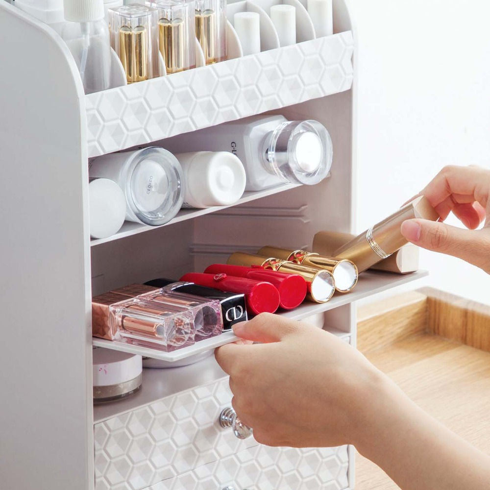 Elegant Multi Layer Organizer For Cosmetics