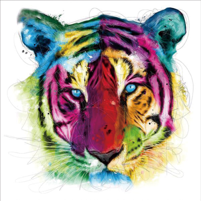 DIY Diamond painting cross stitch Painting Crafts Diamond Embroidery 5D DIY Diamond Mosaic Decoration Gifts Tiger diamond in Diamond Painting Cross Stitch from Home Garden