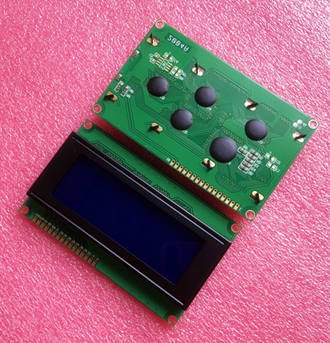 10pcs 20x4 LCD Modules 2004 LCD Module with LED Blue Backlight White Character Free Shipping Dropshipping