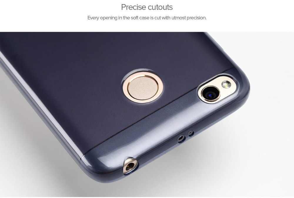 100% Оригинальный Xiaomi Redmi 4X Мягкий ТПУ прозрачный чехол Snapdragon 435 протектор Тонкий силиконовый чехол для телефона Redmi 4X Redmi 4 X