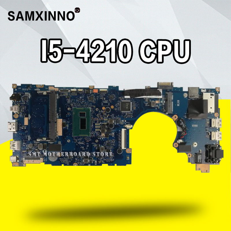 Laptop Test-Mainboard ASUS for Bu201/Bu201l/Bu201la Motherboard-Test 100%Ok I5-4210-Cpu