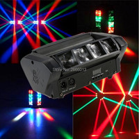 High Quality 8X10W Mini LED Spider Light RGBW LED Beam Lights DMX512 ATUO Sound Control LED