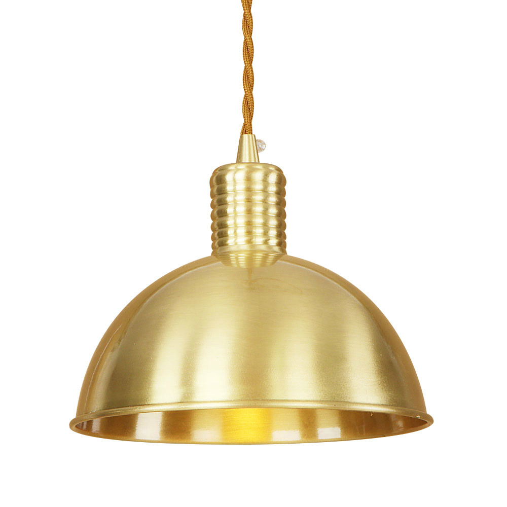 Modern iron brass hemispherical pendant lamp 220V E27 LED novelty hanging light fixture restaurant bedroom living room cafe bar novelty spherical iorn hanging lamp led e27 loft modern pendant light fixture for living room hotel restaurant bedroom study bar