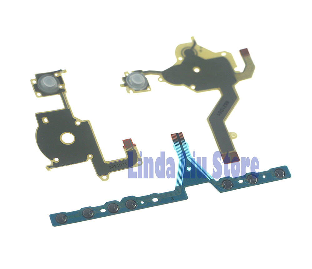 ChengChengDianWan 30sets Lot Direction Cross Button Left Key Volume Right Keypad Flex Cable for Sony PSP