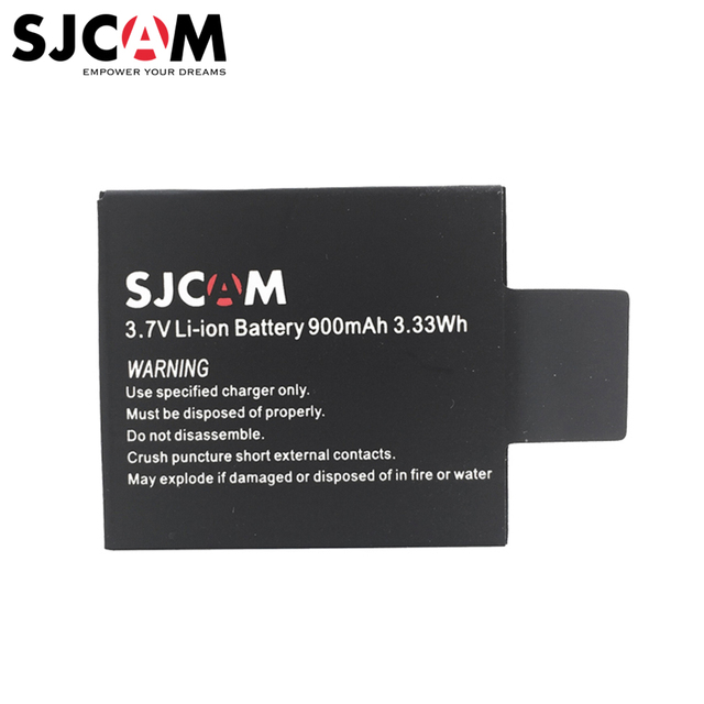 Original Sjcam Battery for Sjcam Sj5000 Sj5000 Wifi Sj5000x Sj5000 Plus Sj4000 Sj4000 Wifi M10 Series Sports Action Camera