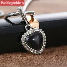 цена на stainless steel necklaces pendant heart shape