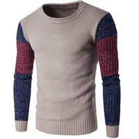 New Arrivals 2018 Men's Long sleeved Cotton Stripes Sweater Fashion And Hot Pullover Men Brand New Of Wholesale