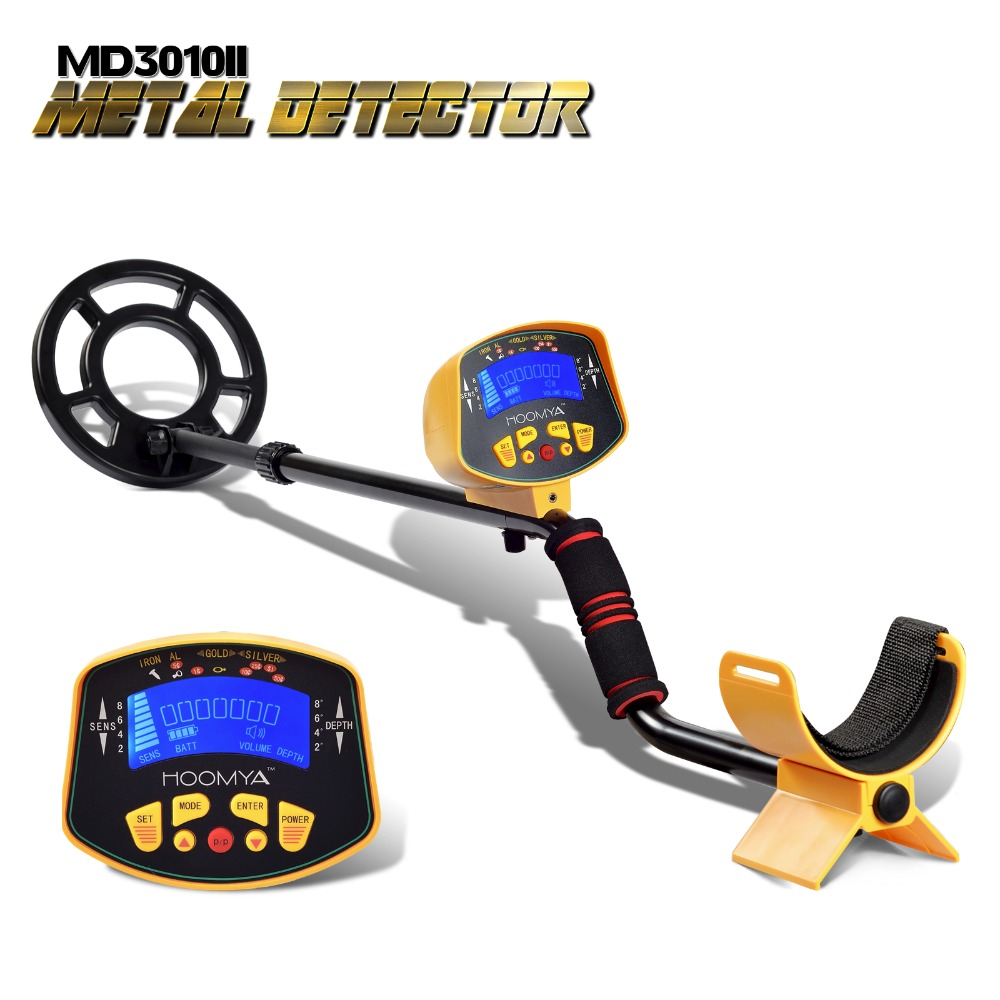 Underground Metal Detector MD3010II Ground Metal Detector Gold detector Nugget Detector LCD Display MD-3010II Treasure Hunter professional md 3010ii underground metal detector gold digger treasure hunter md3010ii ground metal detector treasure seeker