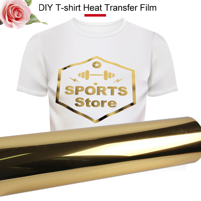 Durable Heat Transfer Paper Iron On Paper T-Shirt Print Paper Creative A4 Gold Textiles Light Color