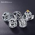 Anfasni genuine 100% 925 prata a céu aberto princesa abóbora libélula encantos fit pandora charm bracelet psmb0212 prado