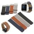 Новый Fitbit Blaze Ремень Из Натуральной ИСКУССТВЕННАЯ Кожа Loop Ремень Для Fitbit Blaze Трекер Смарт-Фитнес-Часы С Магнитом Блокировки Ремень