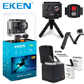 Original EKEN H6S 4K+ Ultra HD Action Camera Built-in Ambarella A12 Chipset 4K@30fps 1080p@60fps EIS waterproof Action Camera