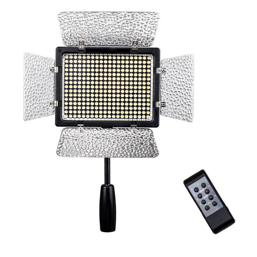 TTKK YongNuo 300 led perles 300III YN 300 III 3200 K-5500 K caméra vidéo tir lumière led pour Canon Nikon olympus