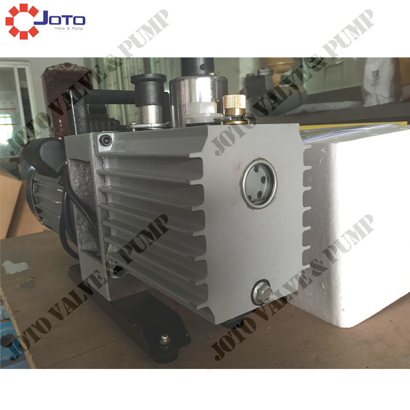 1PC 2XZ-0.5 Electric Rotary Vane Vacuum Pump Double-stage Suction Pump
