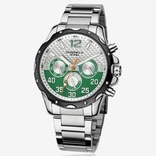 Eyki Marca de lujo de Acero Correa de Los Hombres Reloj de Cuarzo Vestido de La Manera Reloj Impermeable Reloj Deportivo Reloj de pulsera Para Hombres relogio masculino VEE 8572