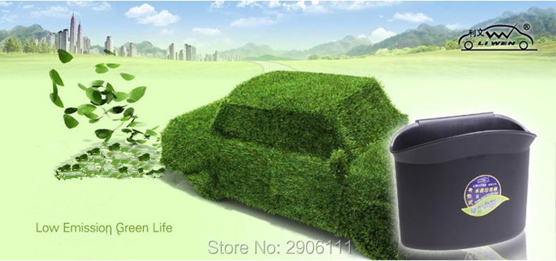 Vehicle Garbage Bin Storage Box Accessories Car Styling For Fiat Punto 500 Bravo Freemont Stilo