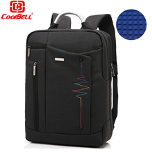 Coolbell Brand Daypack Laptop Backpack 14 15.6 inch Notebook Laptop Bag men women Minimalist Mochila Feminina Luggage Travel bag