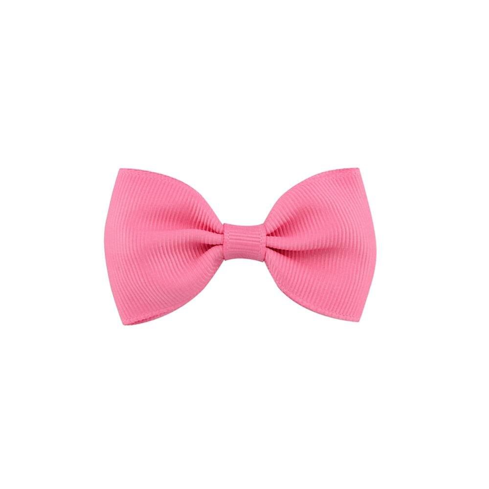 40 цветов, 1 шт., цветные заколки для детей, для маленьких девочек, заколки для волос, бантики, аксессуары для волос, заколка для волос 643 - Цвет: 13