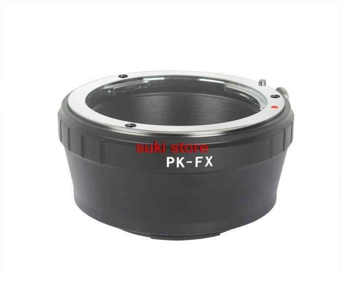 PK-FX lente adaptador para Pentax K PK lente de montaje para Fujifilm X-Pro1 cámara intercambiables adaptador FX