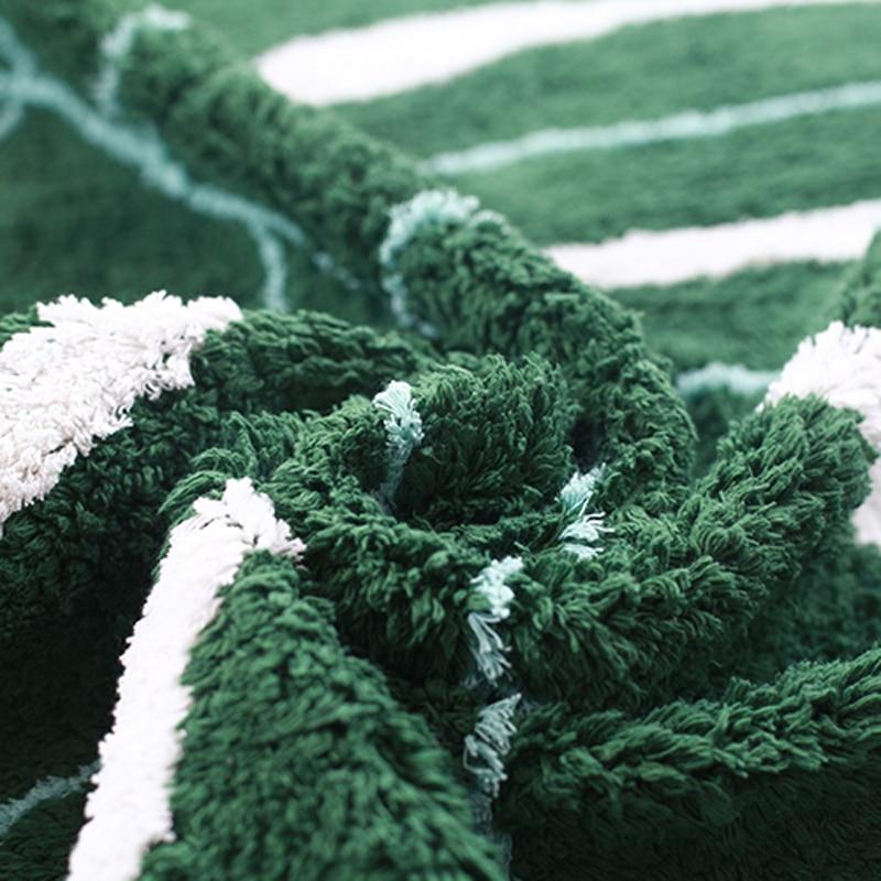 Nordique bébé tapis coton bébé feuille tapis de jeu activité jeu tapis de jeu décoration enfants chambre tapis enfants jouets couverture tapis - 5