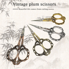 1set straight tip scissors include 10 12 5 14 16 18 20cm surgical scissors stainless steel operating scissors eye scissors NEW Embroidery Scissors Classic Plum Blossom Straight Scissors Stainless Steel Scissors for Needle Work