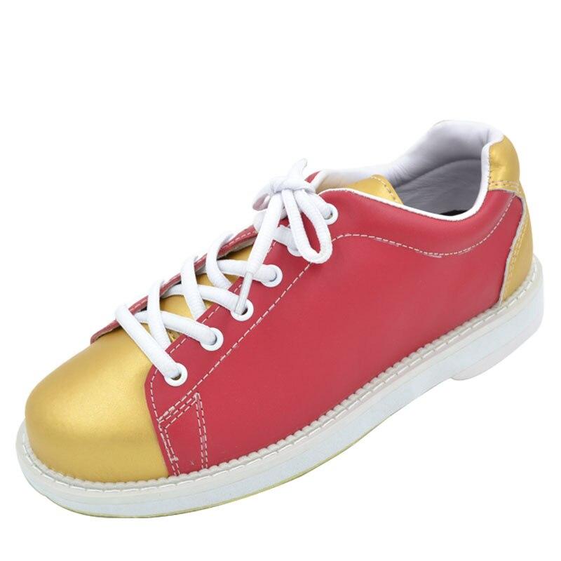 Professional Bowling Shoes Women Soft Footwear Classic Women Sneakers Light Male Shoe Size Eu 32-40 AA10084 bsi women s 651 bowling shoes
