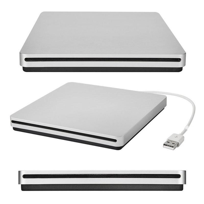 Usb externo slot em dvd cd drive burner superdrive para apple macbook ar pro conveniência para você reproduzir filmes de música r20