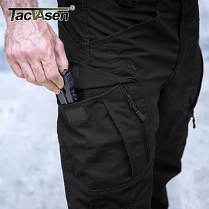 Image 4 - TACVASEN Tactical Pants Men Military Clothing Outdoor Work Cargo Pants Men Airsoft Army Combat Trousers Stretch Assault Pants