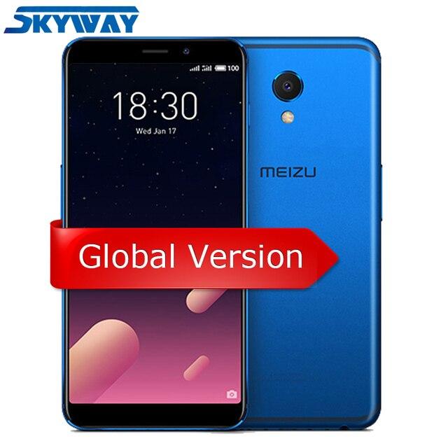 """Оригинал Meizu M6s S6 4G LTE Глобальный Версия 3 Гб 32 GB сотовый телефон Exynos 7872 гекса Core 5,7 """"HD экран 16.0MP отпечатков пальцев"""