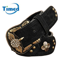 New 2016 Fashion Vintage Belts For Women Genuine Leather Belt Pigskin Brand Cinto Feminino Black Belt Women Strap Waistband