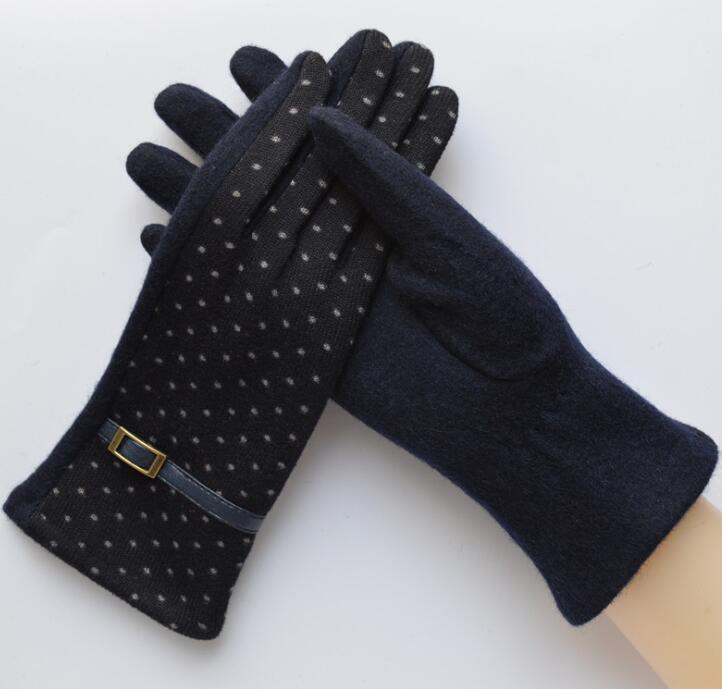 Bekleidung Zubehör Neue Mode Winter Finger Handschuhe Strick Handschuh Kurz Half-finger Handschuhe Weihnachten Der Zubehör Arm Wärmer Kurze Handschuhe ZuverläSsige Leistung Damen-accessoires