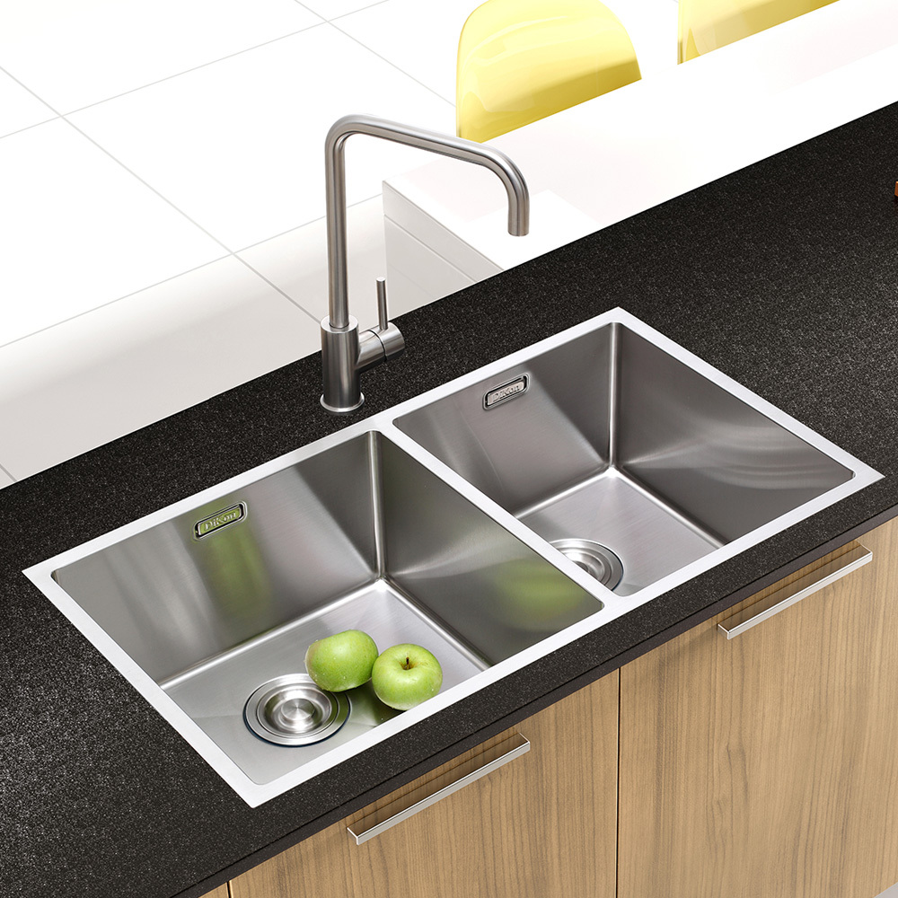 Dikon 304 Stainless Steel Kitchen Sink Torneiras Para Pia Cozinha Faucets Mixers Taps No Copper Pb Handmade In Sinks From Home Improvement On