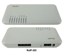Free Post Shipping! RoIP-302(Radio over IP/internet protocol ) for voice communication-- roip voip gateway