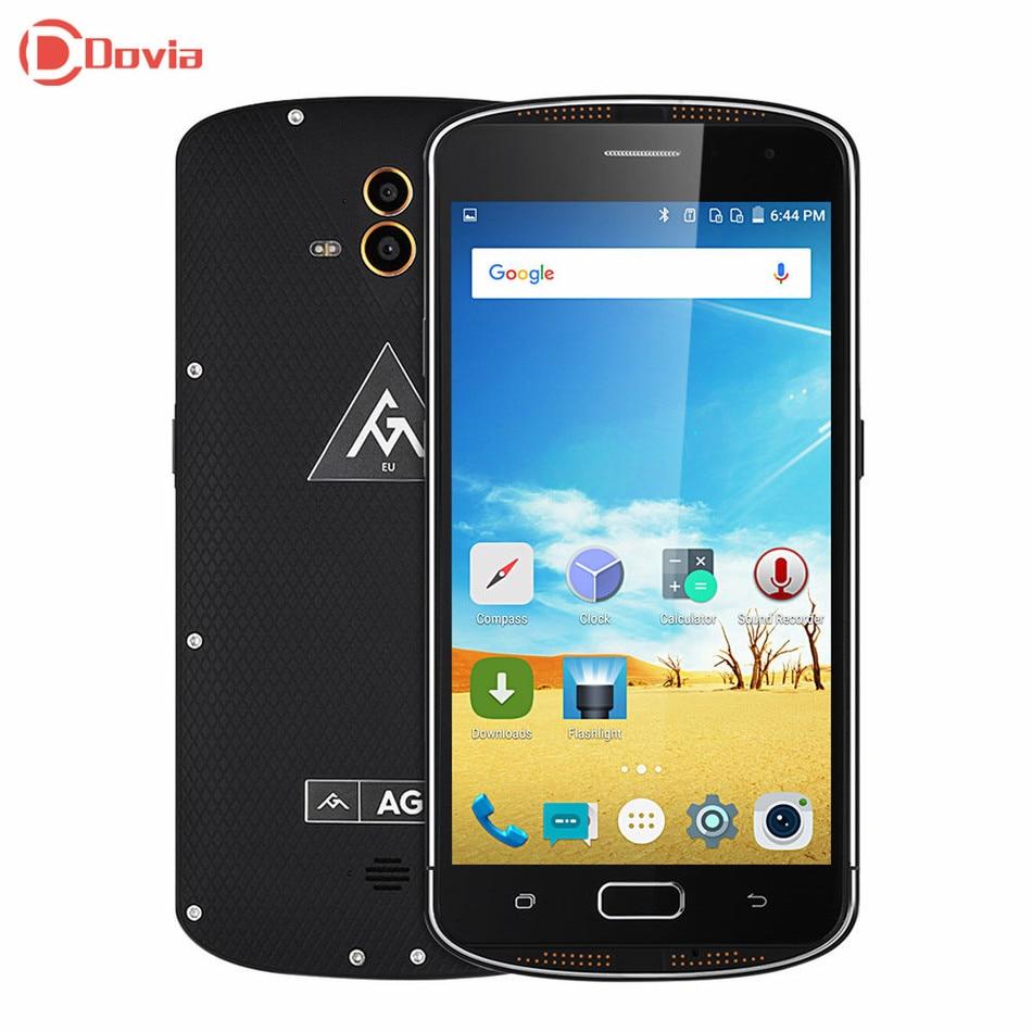 bilder für Original AGM X1 4G Telefon 5,5 zoll MSM8952 Octa-core 4 GB RAM 64 GB ROM Dual Rear 13.0MP Kameras NFC Fingerprint Sensor Phone