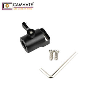 CAMVATE Universal Light Pole Adapter Connector For Camera Monitor Cage C1923