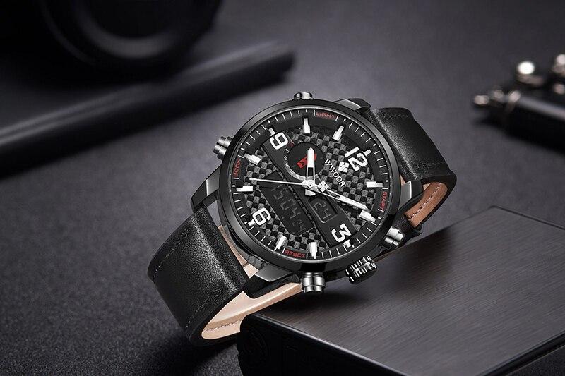 WWOOR 8859 Watch Men Top Brand Luxury Quartz Men\'s Business Military Wrist Watches Leather Analog Clock Men relogio masculino (15)