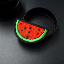 Watermelon 3.8x6.5cm Cloth Badge Patches Clothing Cartoon Patch Fabric Sewing Embroidered Applique Jacket Jeans Clothing Badges(China)