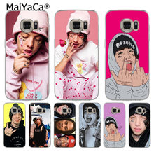 MaiYaCa Lil Xan Rapper soft tpu phone case cover for samsung galaxy s7 s6 edge plus s5 s9 s8 plus case(China)