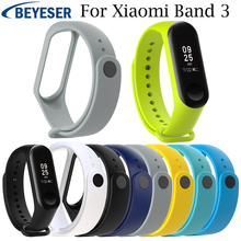 Multicolor silicone replacement soft Band for Xiaomi Mi Band 3 Sport Strap watch band wrist strap For xiaomi mi band3 wristband replacement ventilate sport soft wrist strap wristband for xiaomi mi band 3 wearable devices smartwatch relogios
