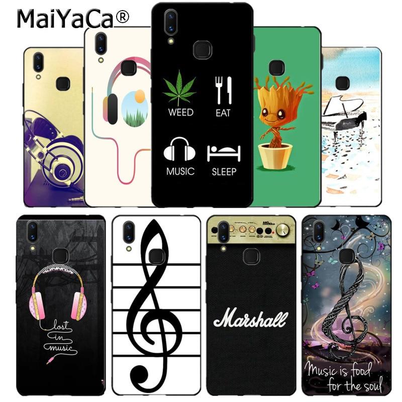 MaiYaCa eat weed sleep music headset earphone piano Phone