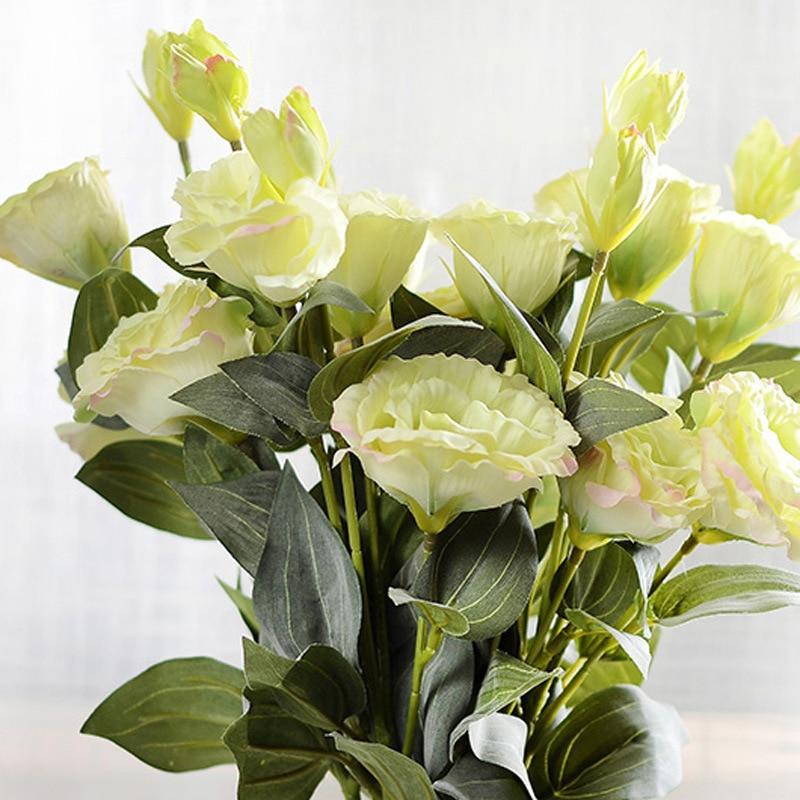 15//18 Heads Silk Rose Artificial Flowers Bunch Bouquet Home Wedding Garden Decor