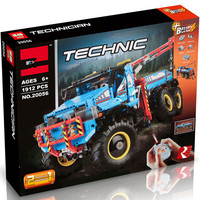 the technic truck 20056 legoing Technic UltimateTerrain Remote Control Truck Set 42070 Model Building Blocks Bricks